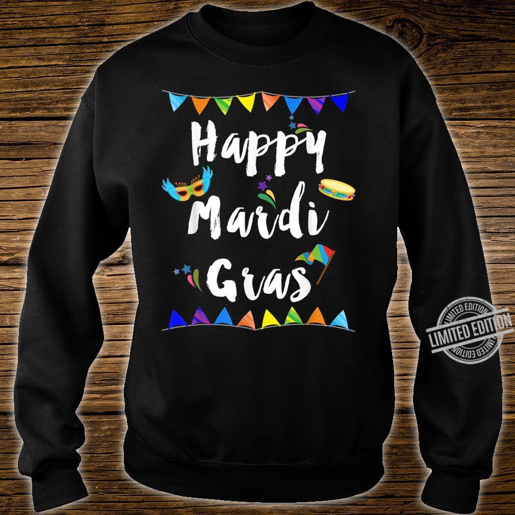 Happy Mardi Gras Shirt sweater