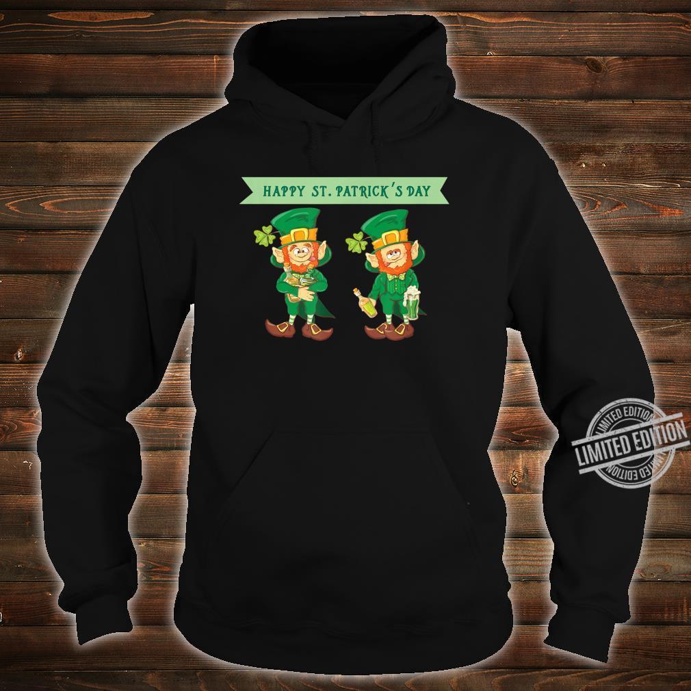 Happy St Patrick's Day Celebrating Irish Leprechaun Shirt hoodie