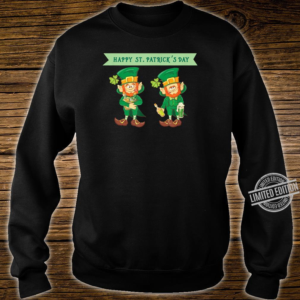 Happy St Patrick's Day Celebrating Irish Leprechaun Shirt sweater