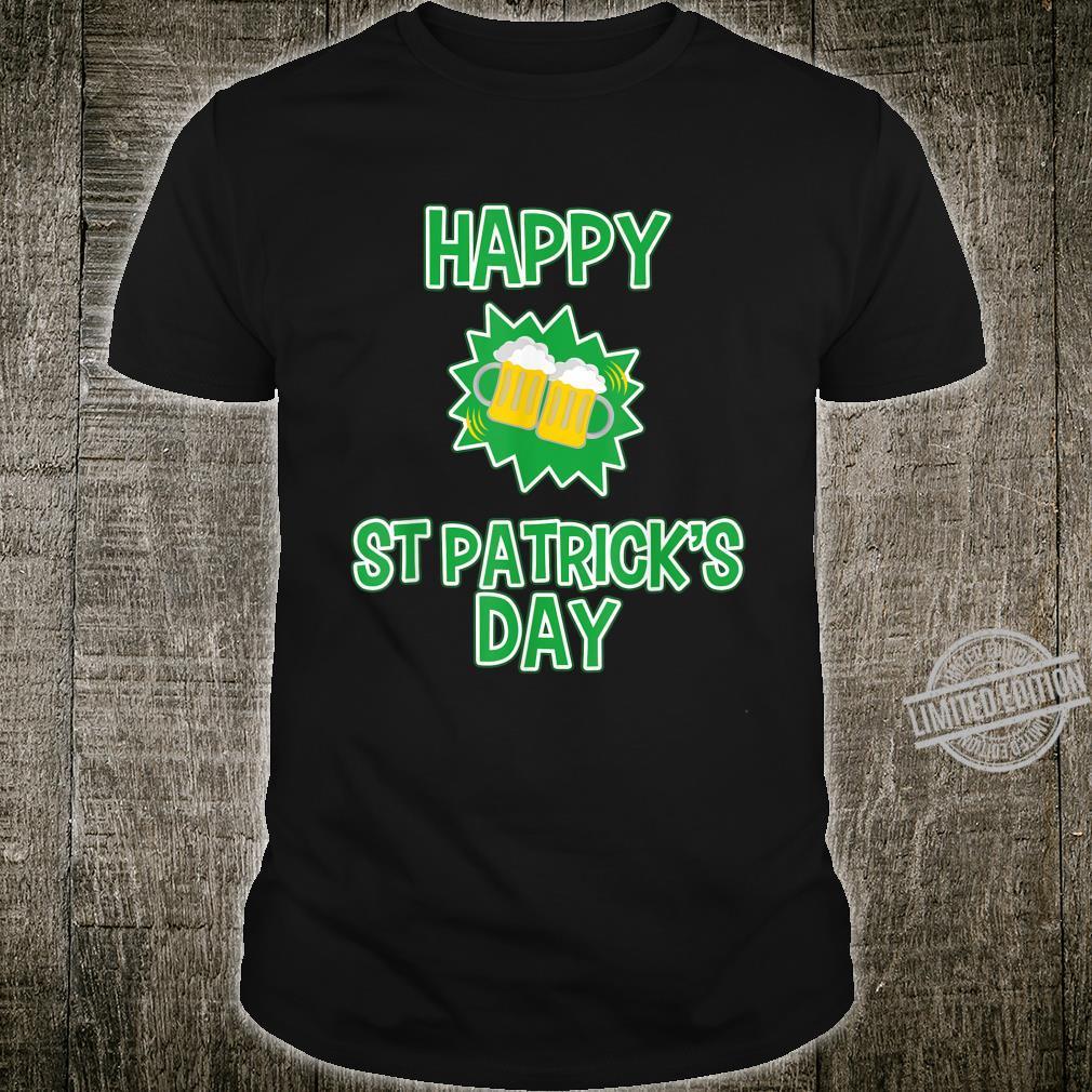 Happy St Patrick's Day Drinking Shirt