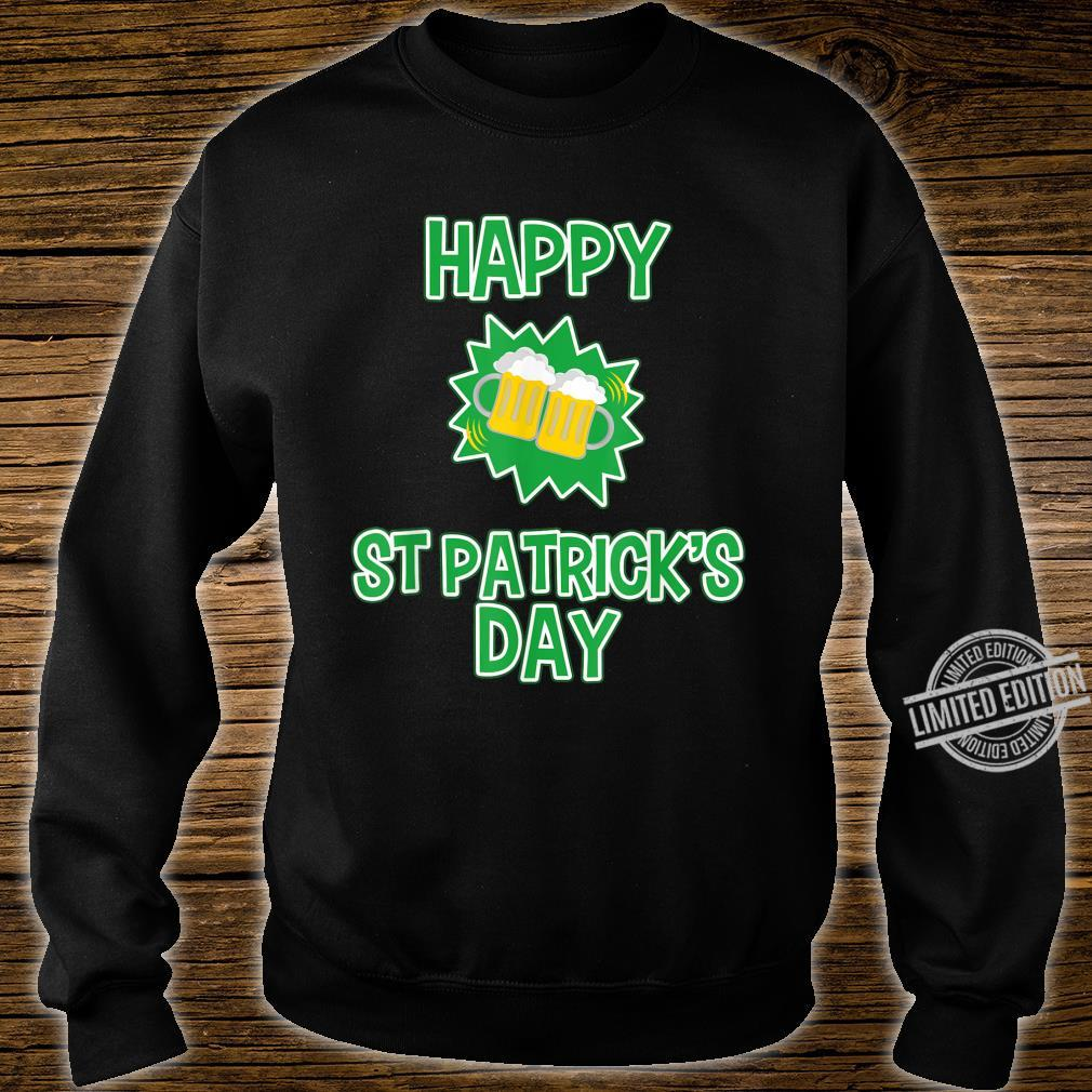 Happy St Patrick's Day Drinking Shirt sweater