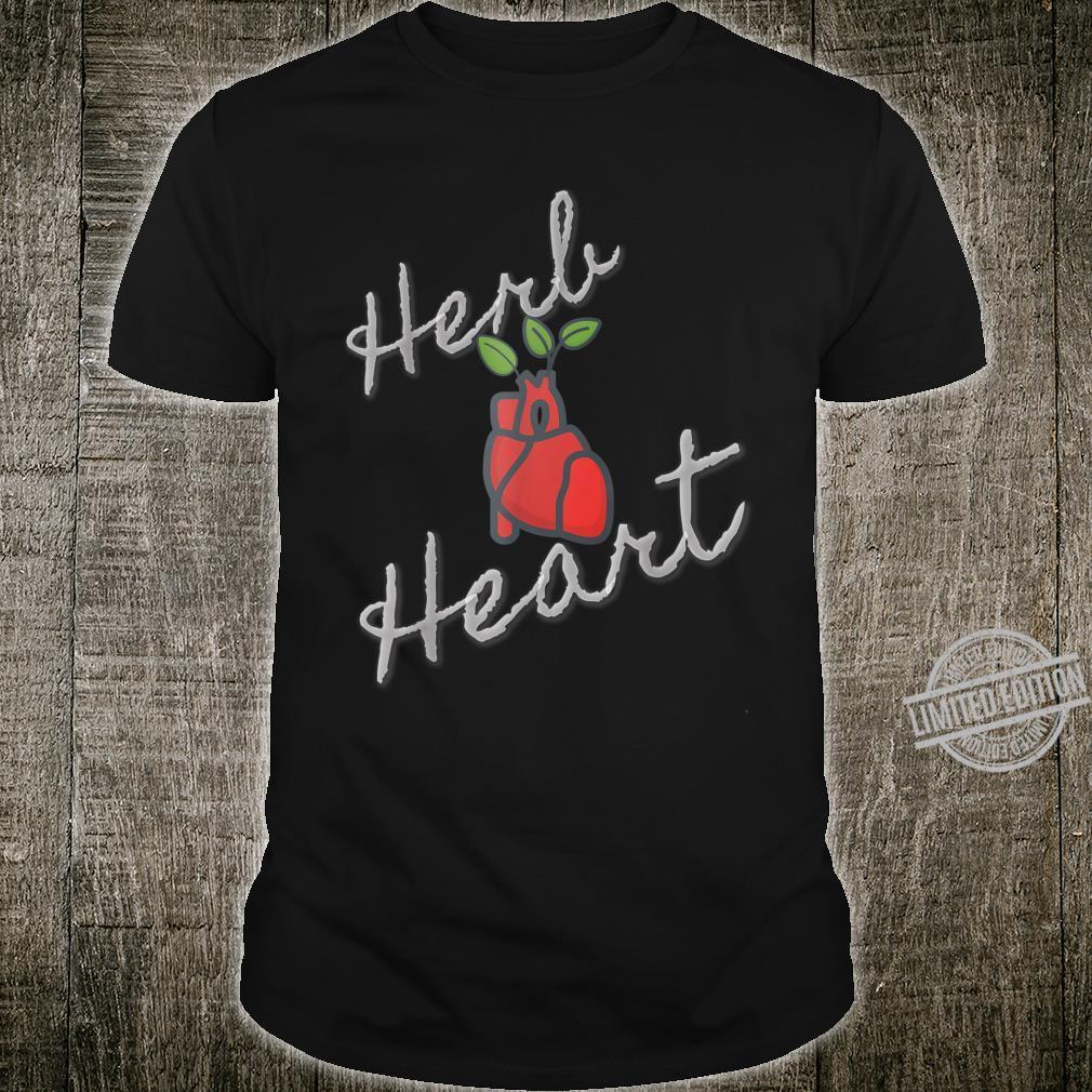 Herb Heart Garden Vegetable Pun Shirt