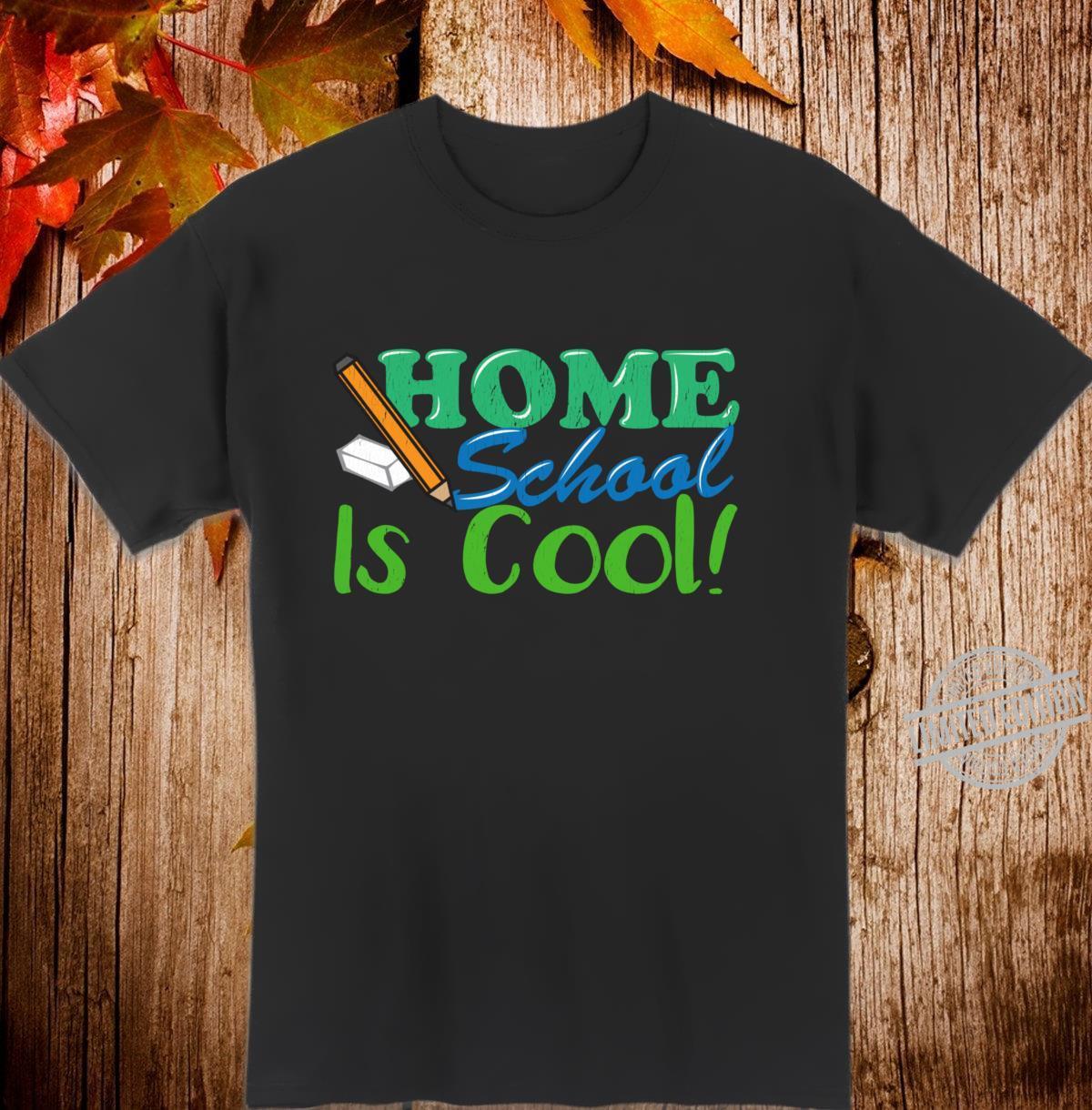 Homeschool is Cool Home School Langarmshirt Shirt