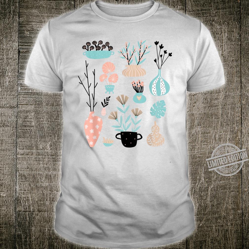 Houseplant Plant Lady Gardener Pilea Monstera Pothos Shirt