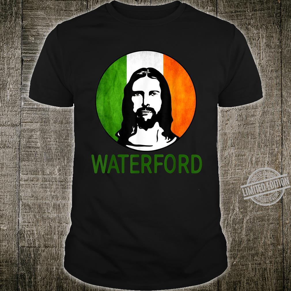 Jesus Waterford Irish Flag Happy Patrick's Day Shirt