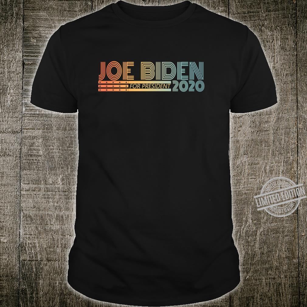 Joe Biden 2020 For President Election USA Shirt