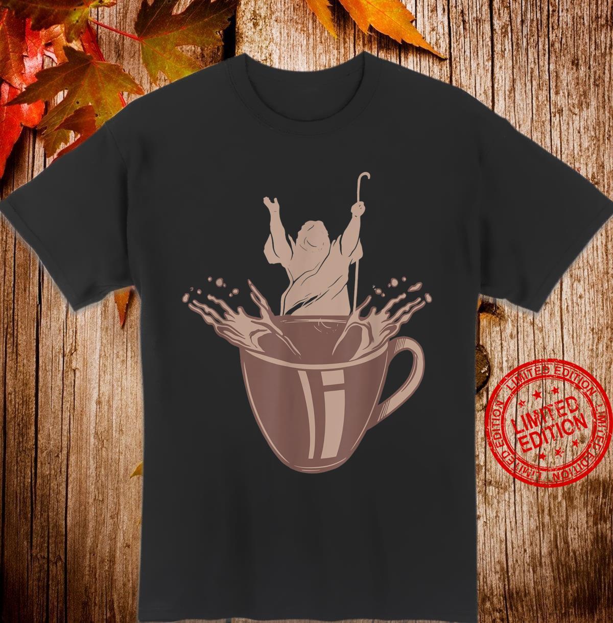 Kaffee trinker Gott Handwerker tolles Geschenk Spruch Coffee Shirt