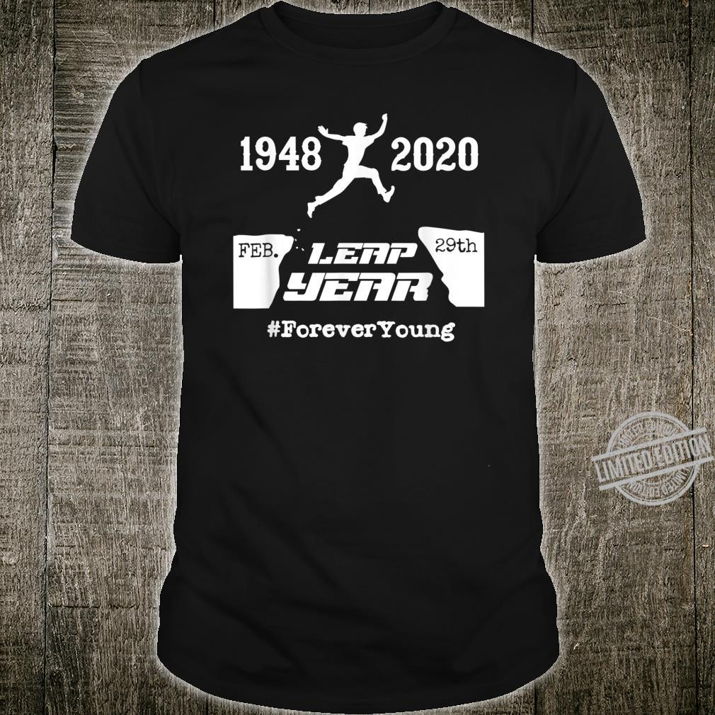 Leap Year 76th Birthday 1948 February 2020 Leap Year Shirt