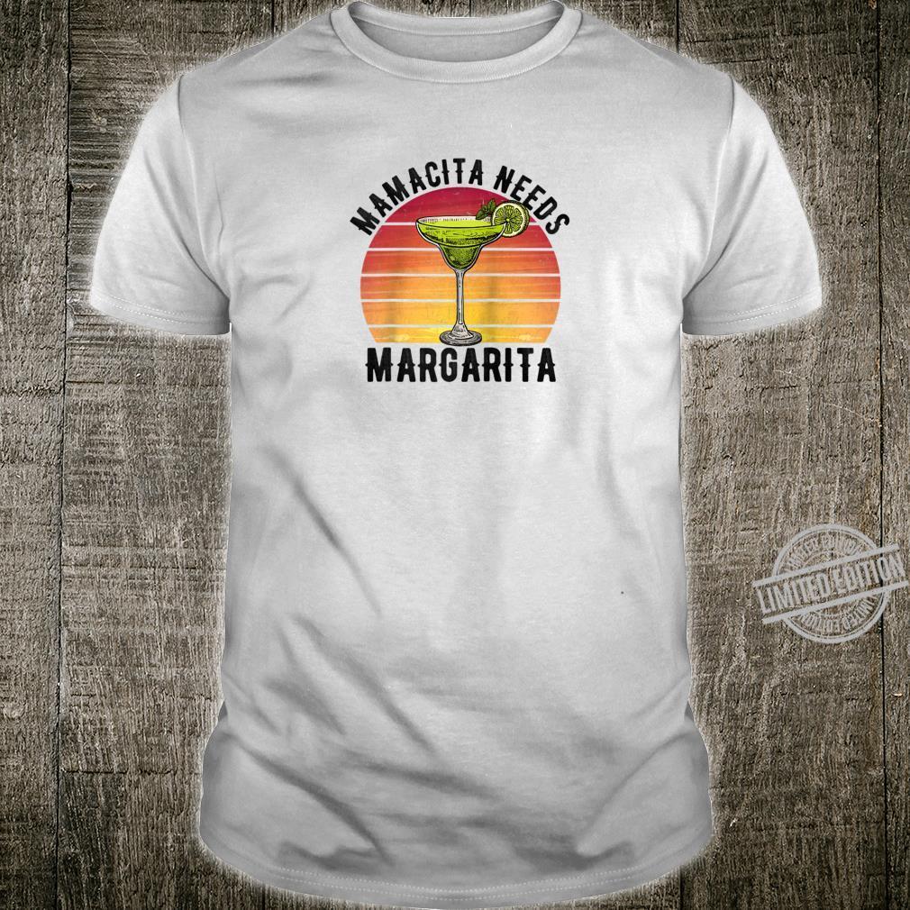 Mamacita Needs a Margarita Mother's Day Shirt