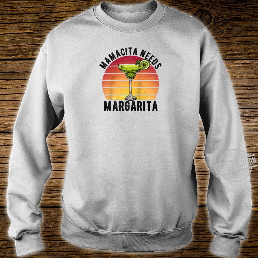 Mamacita Needs a Margarita Mother's Day Shirt sweater