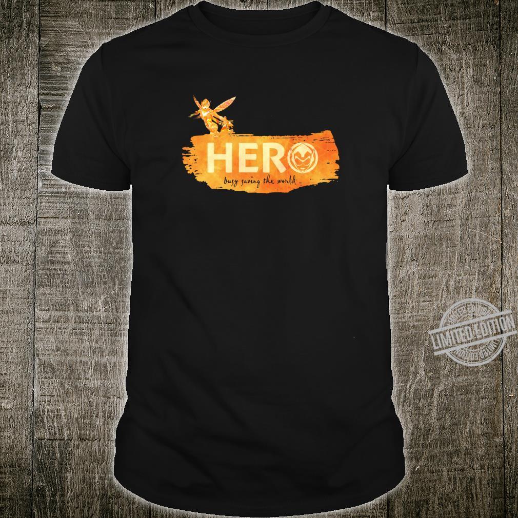 Marvel Wasp Hero Busy Saving the World Shirt