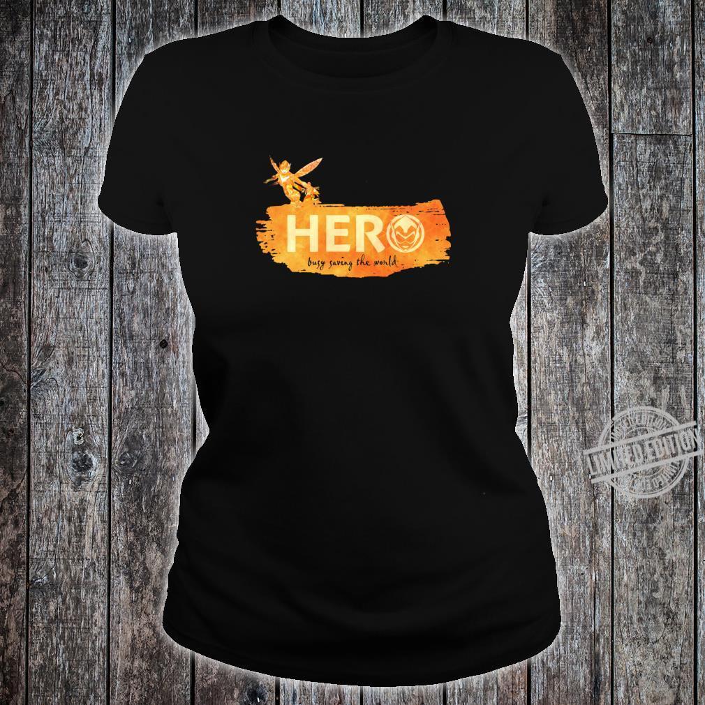 Marvel Wasp Hero Busy Saving the World Shirt ladies tee