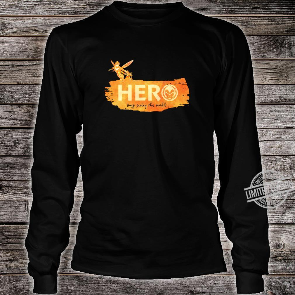 Marvel Wasp Hero Busy Saving the World Shirt long sleeved