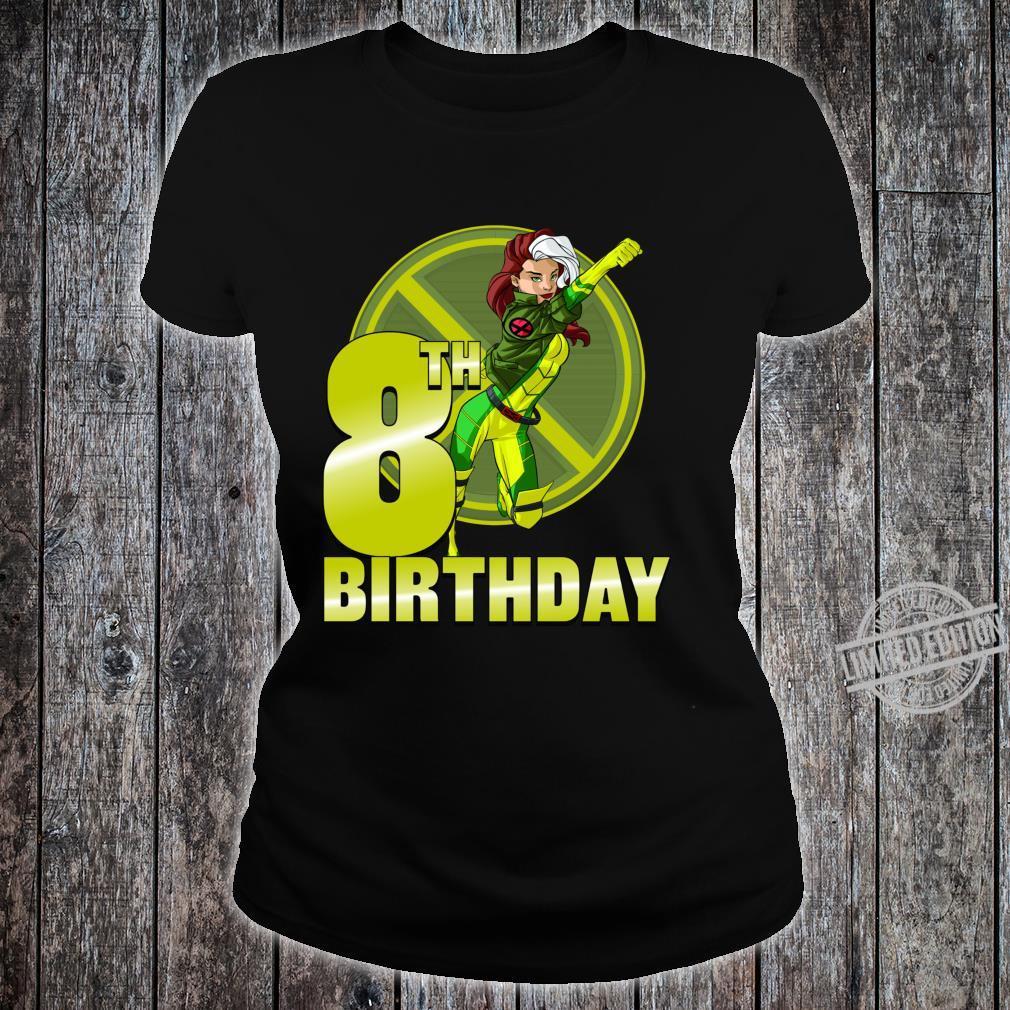 Marvel XMen Rogue 8th Birthday Badge Shirt ladies tee