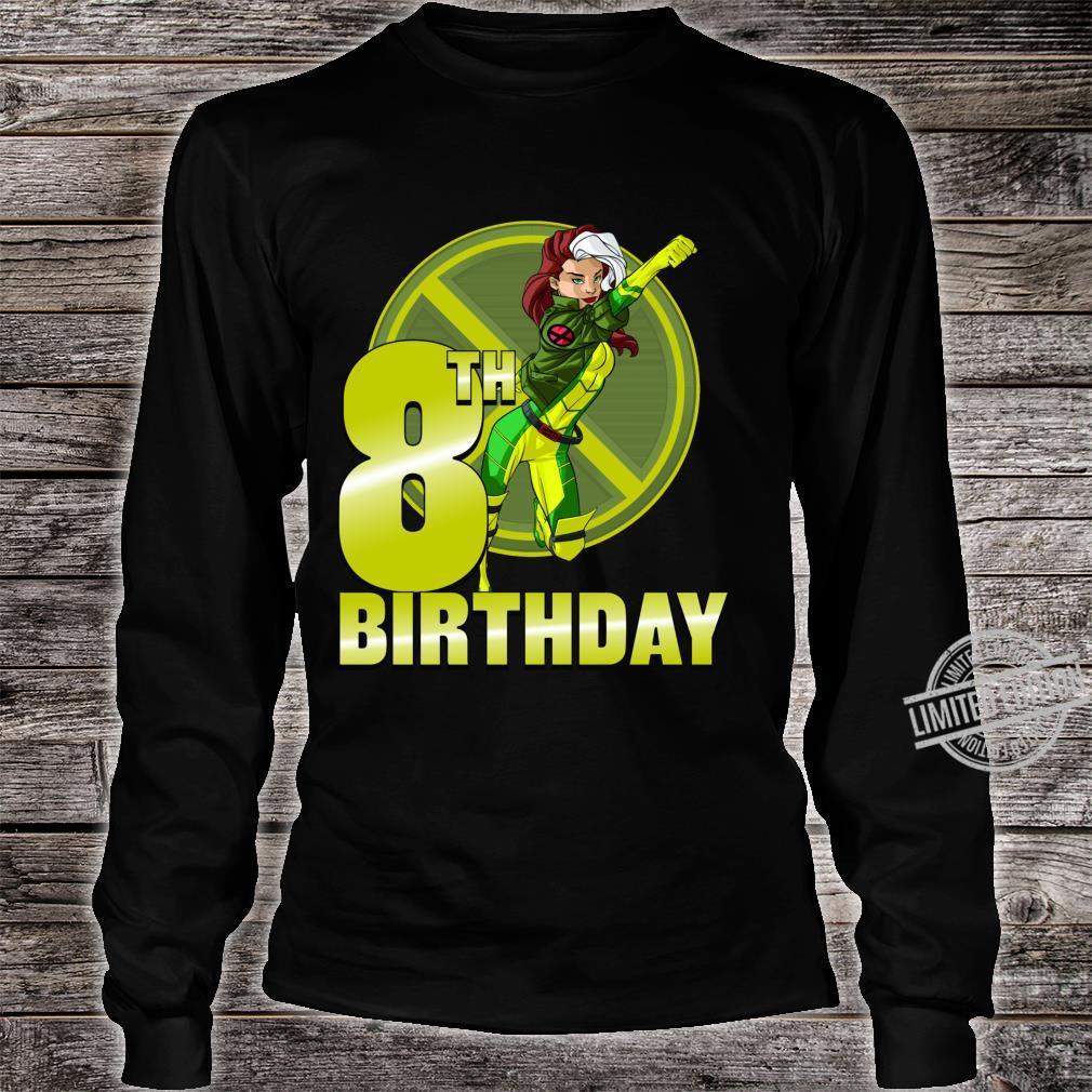 Marvel XMen Rogue 8th Birthday Badge Shirt long sleeved