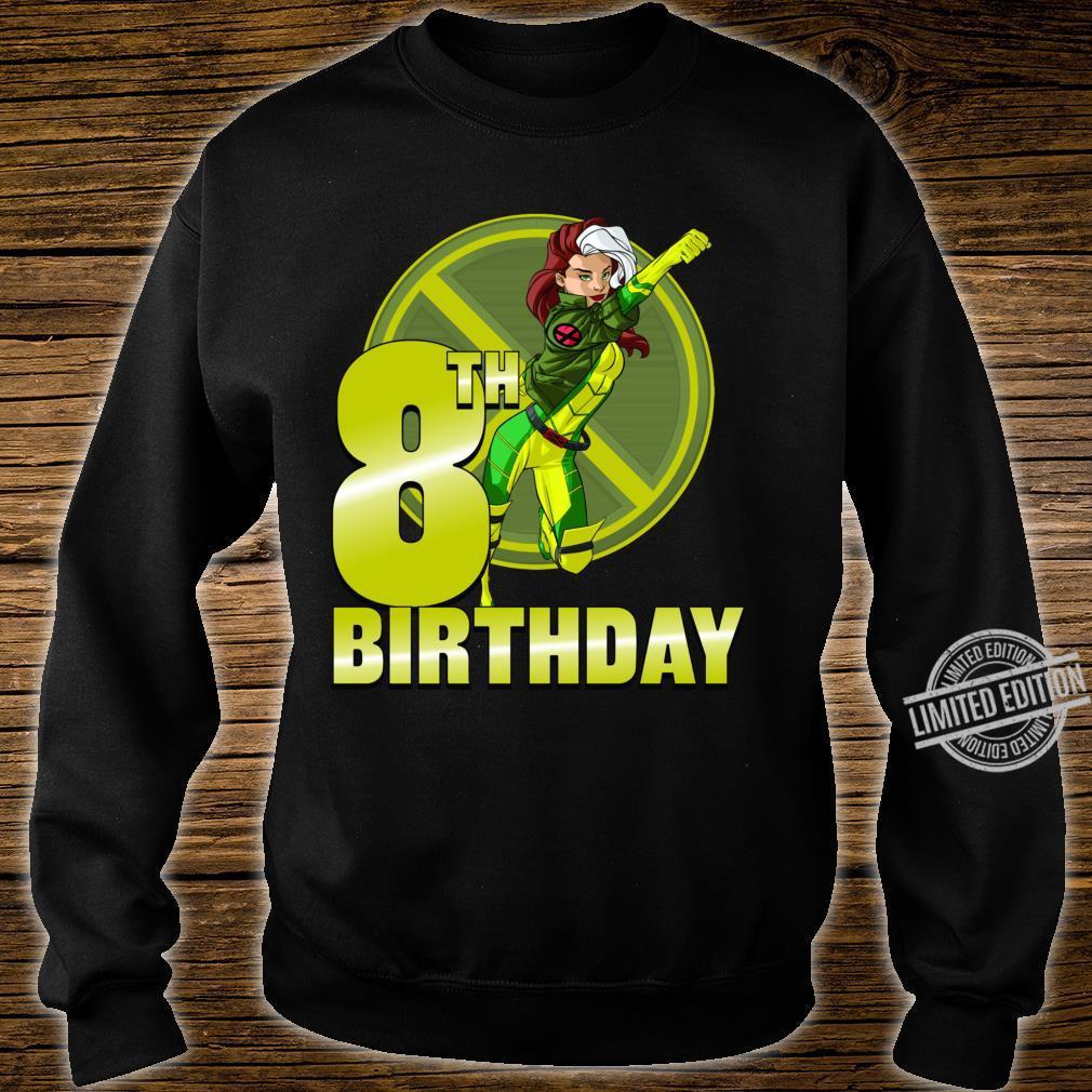 Marvel XMen Rogue 8th Birthday Badge Shirt sweater