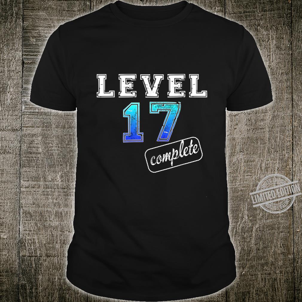 Men's 17th Birthday Boy 17th Birthday Shirt