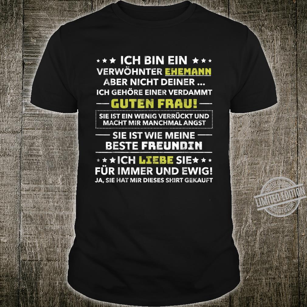 Men's 'Ich Bin Ein Spöhnter Husband Birthday Shirt