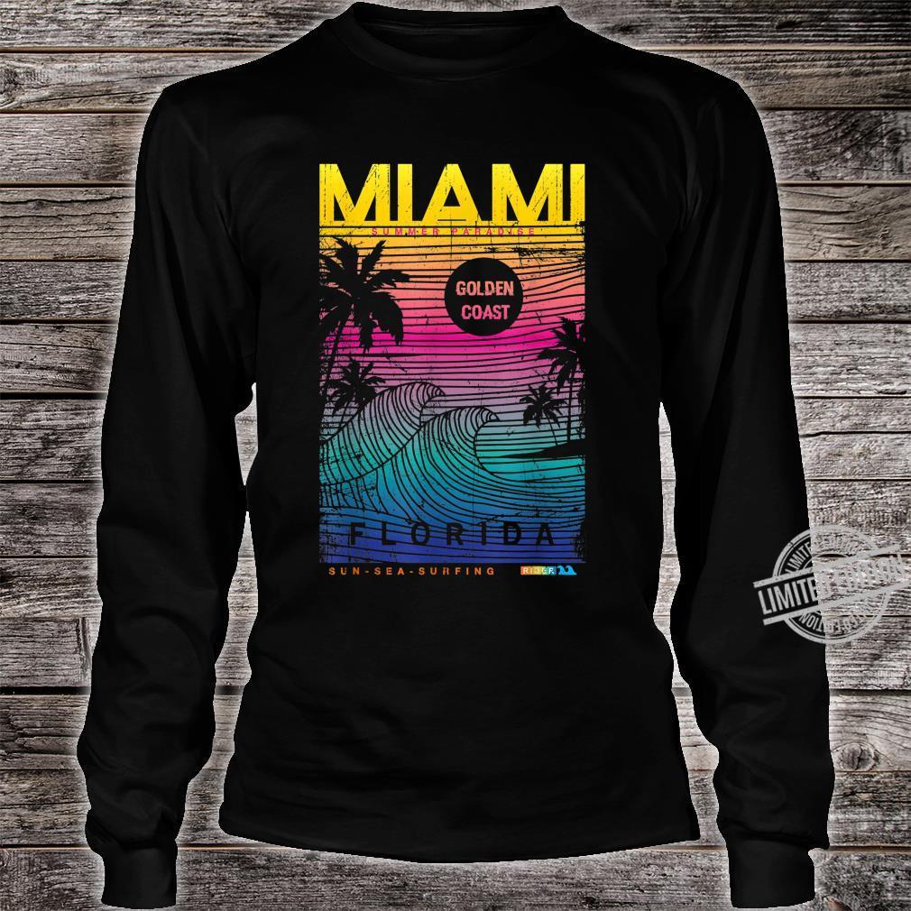 Miami Beach, I Love Miami Florida, Miami Shirt long sleeved