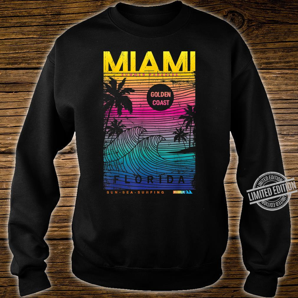 Miami Beach, I Love Miami Florida, Miami Shirt sweater