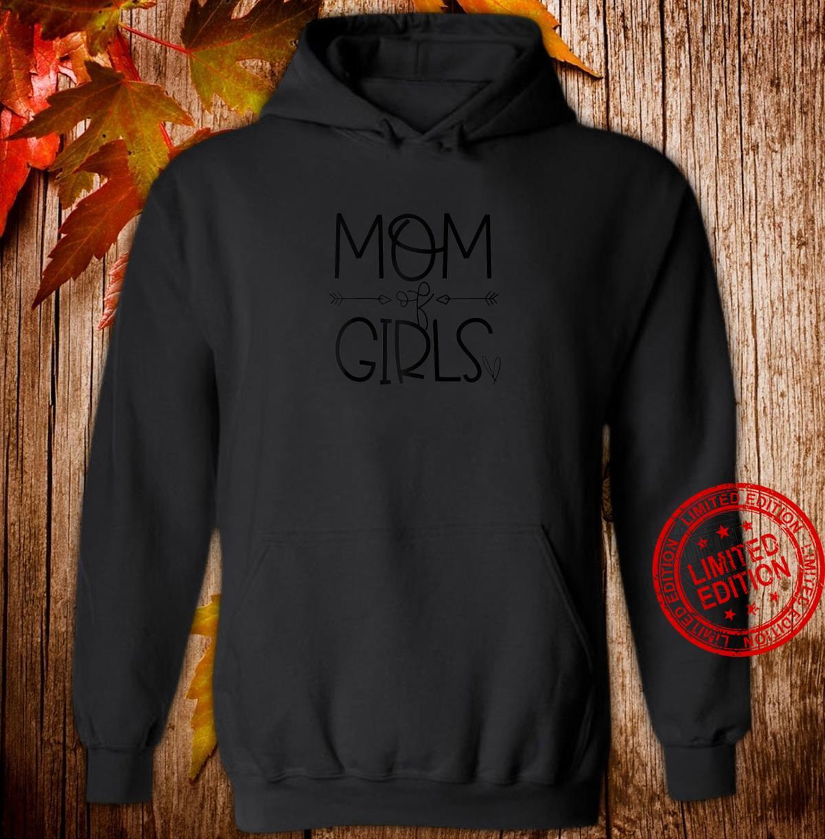 Mom of Girls Superwoman Shirt hoodie