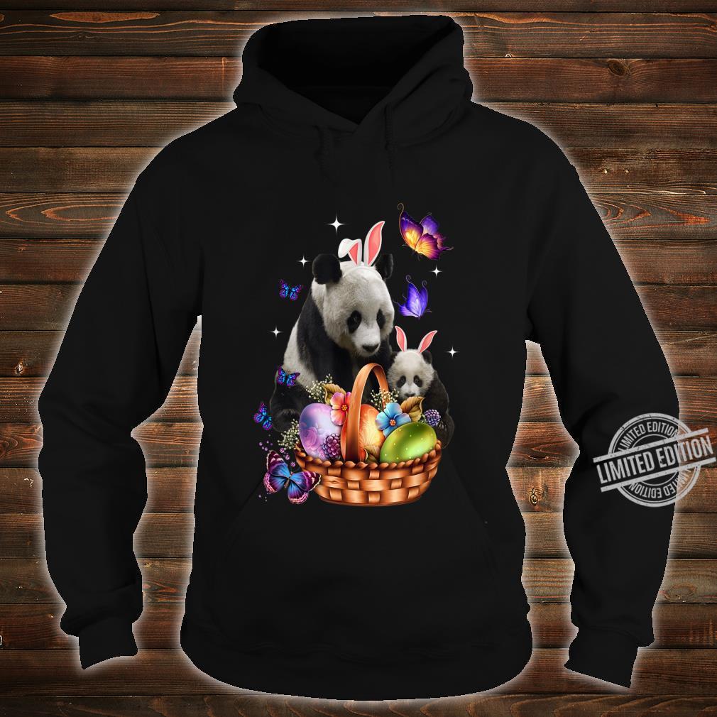 Panda Easter Day Costume Love Egg Bunny Happy Easter Shirt hoodie