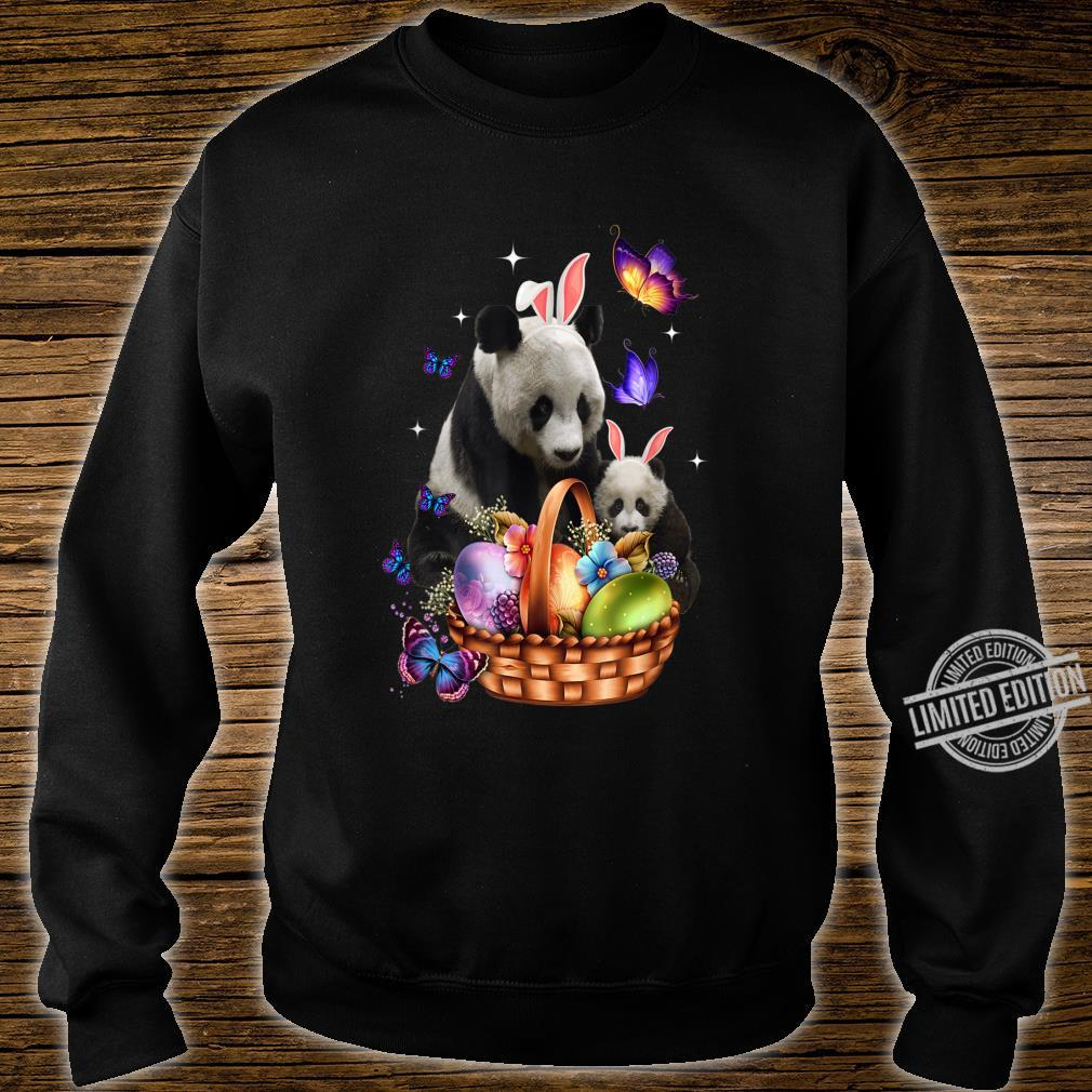 Panda Easter Day Costume Love Egg Bunny Happy Easter Shirt sweater