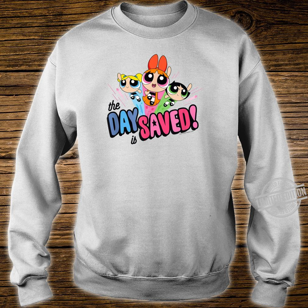 Powerpuff Girls The Day is Saved Shirt sweater