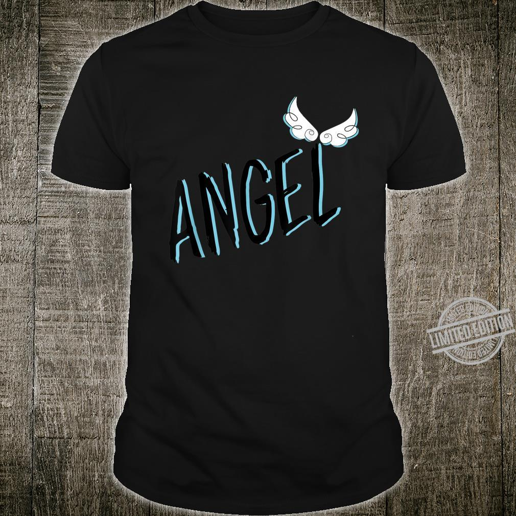 Printed Angel with cute and wings,man or kid Shirt