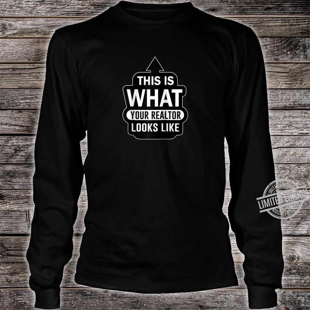 Realtor Real Estate Property Agent House Seller Shirt long sleeved