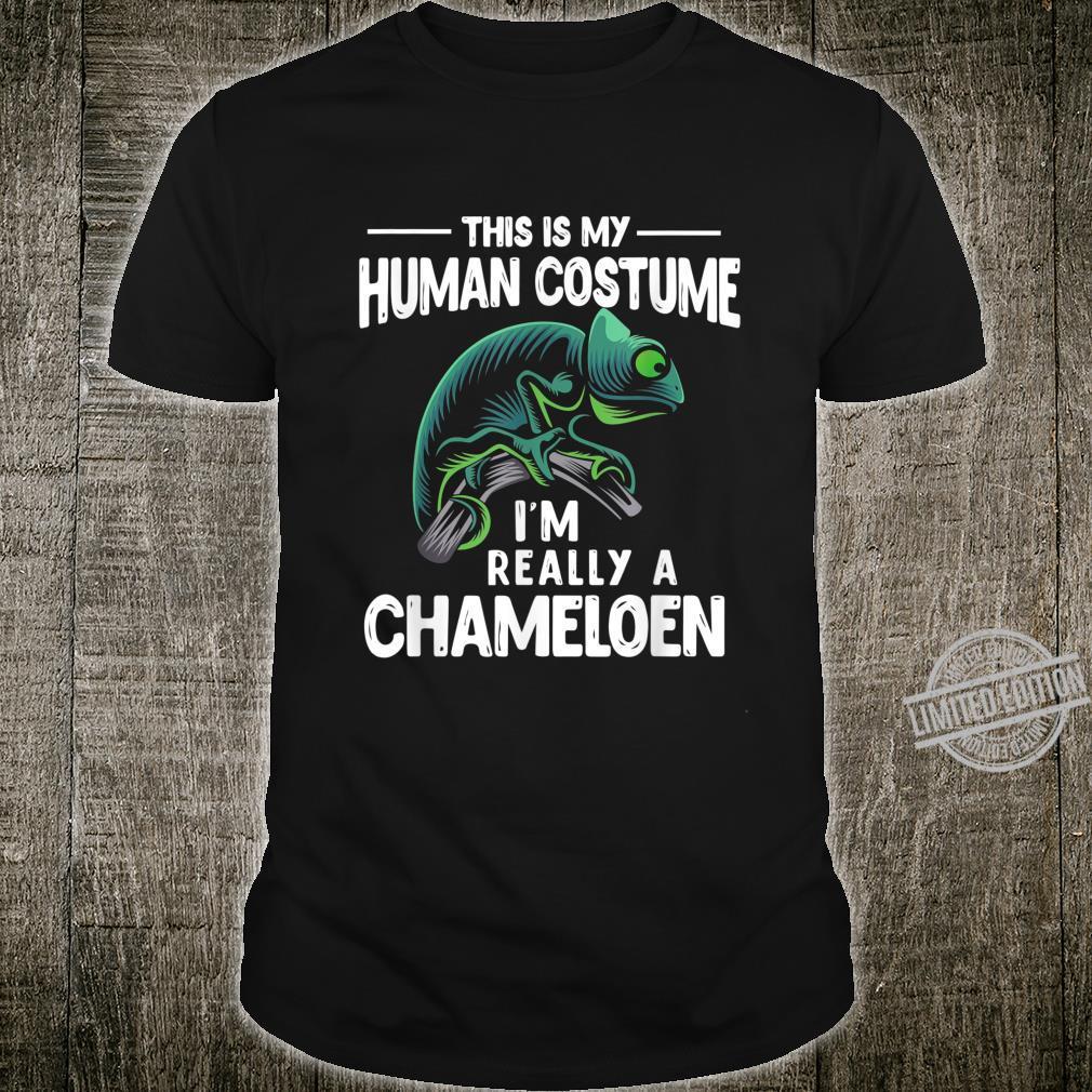Reptile Chameleon Shirt