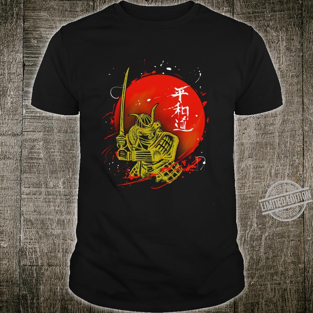 Retro Bushido Samurai Krieger Japanischer Samurai Shirt