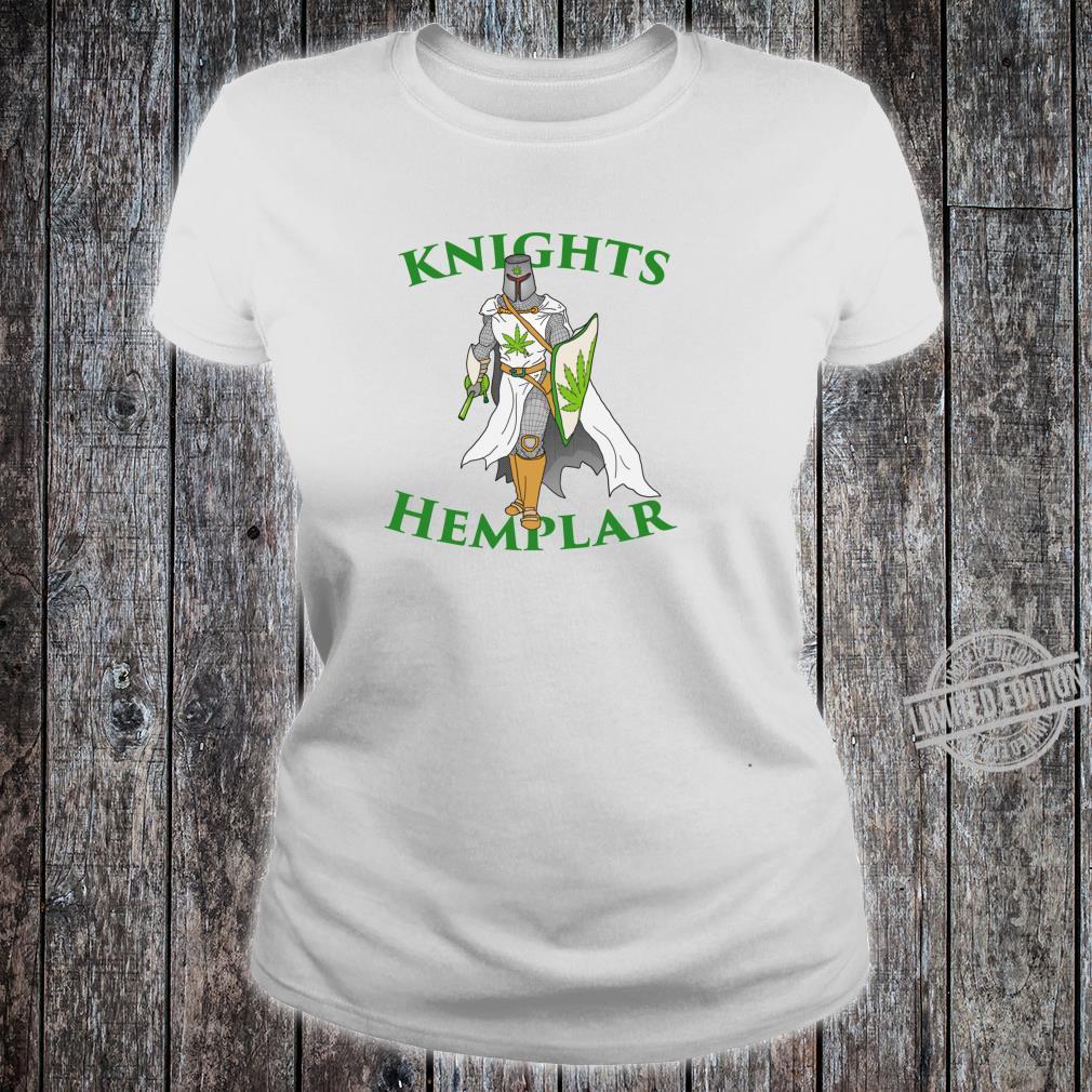 Ritter Hemplar 420 Unkraut Cannabis gesteinigt Marihuana Shirt ladies tee