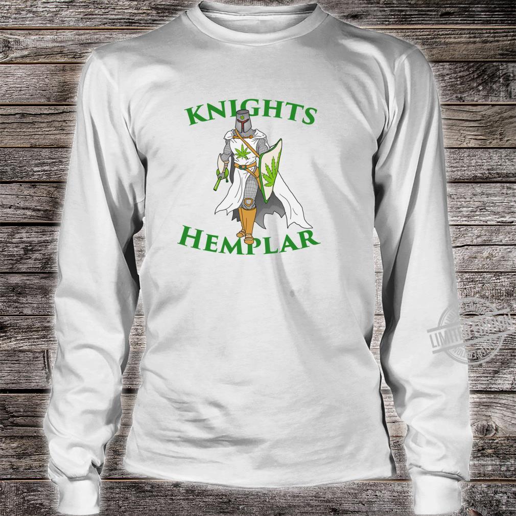 Ritter Hemplar 420 Unkraut Cannabis gesteinigt Marihuana Shirt long sleeved