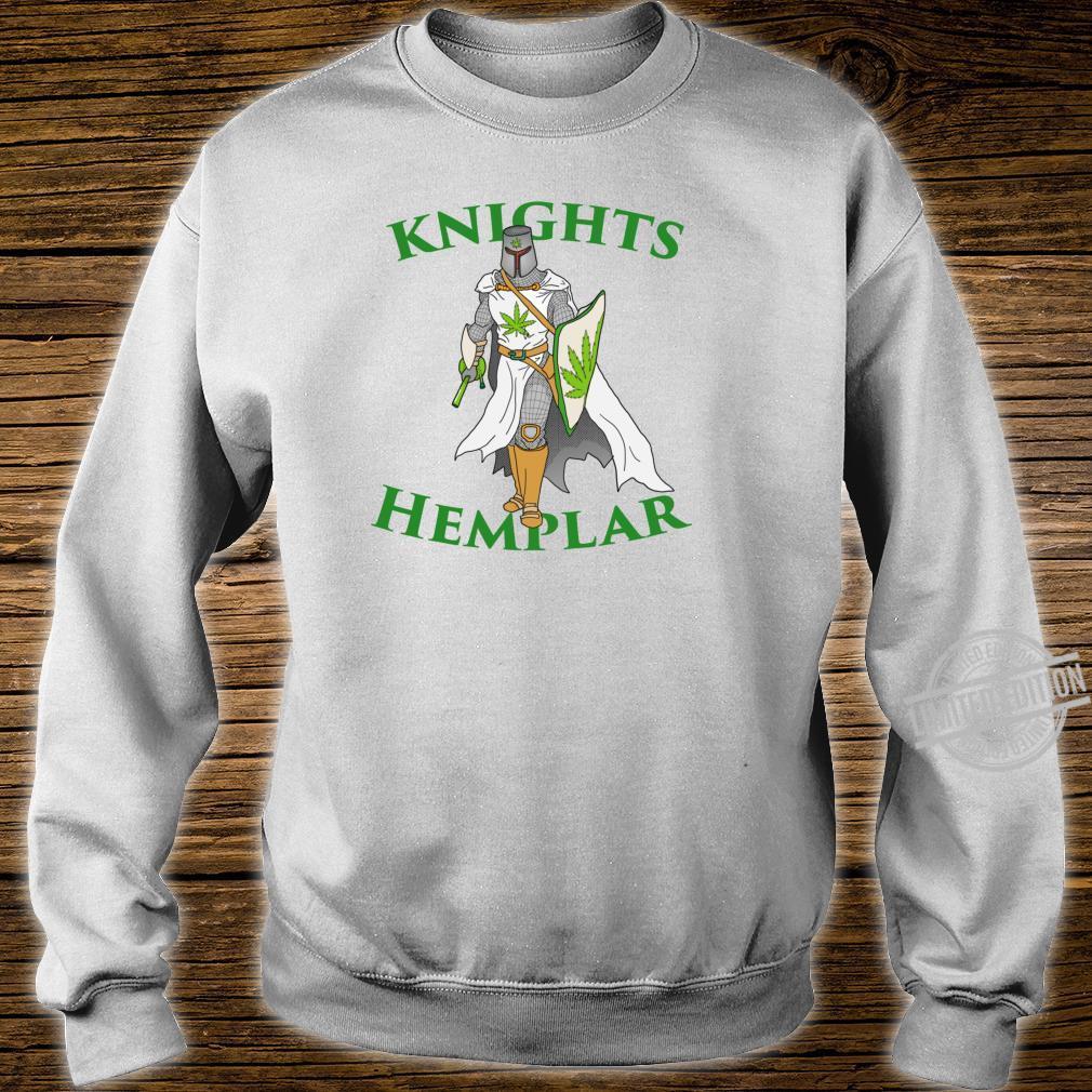 Ritter Hemplar 420 Unkraut Cannabis gesteinigt Marihuana Shirt sweater