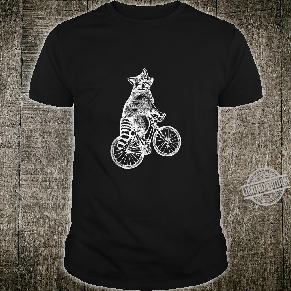 SEEMBO Raccoon Cycling Bicycle Cyclist Bicycling Bike Shirt