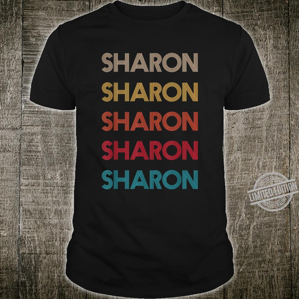 SHARON Retro Vintage Style mothers day fathers idea 2020 Shirt