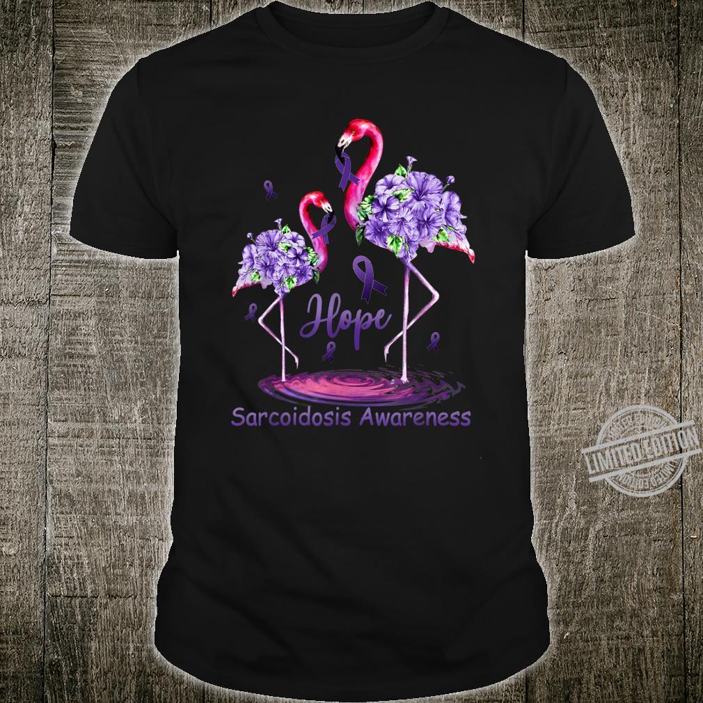 Sarcoidosis Awareness Flamingo Shirt