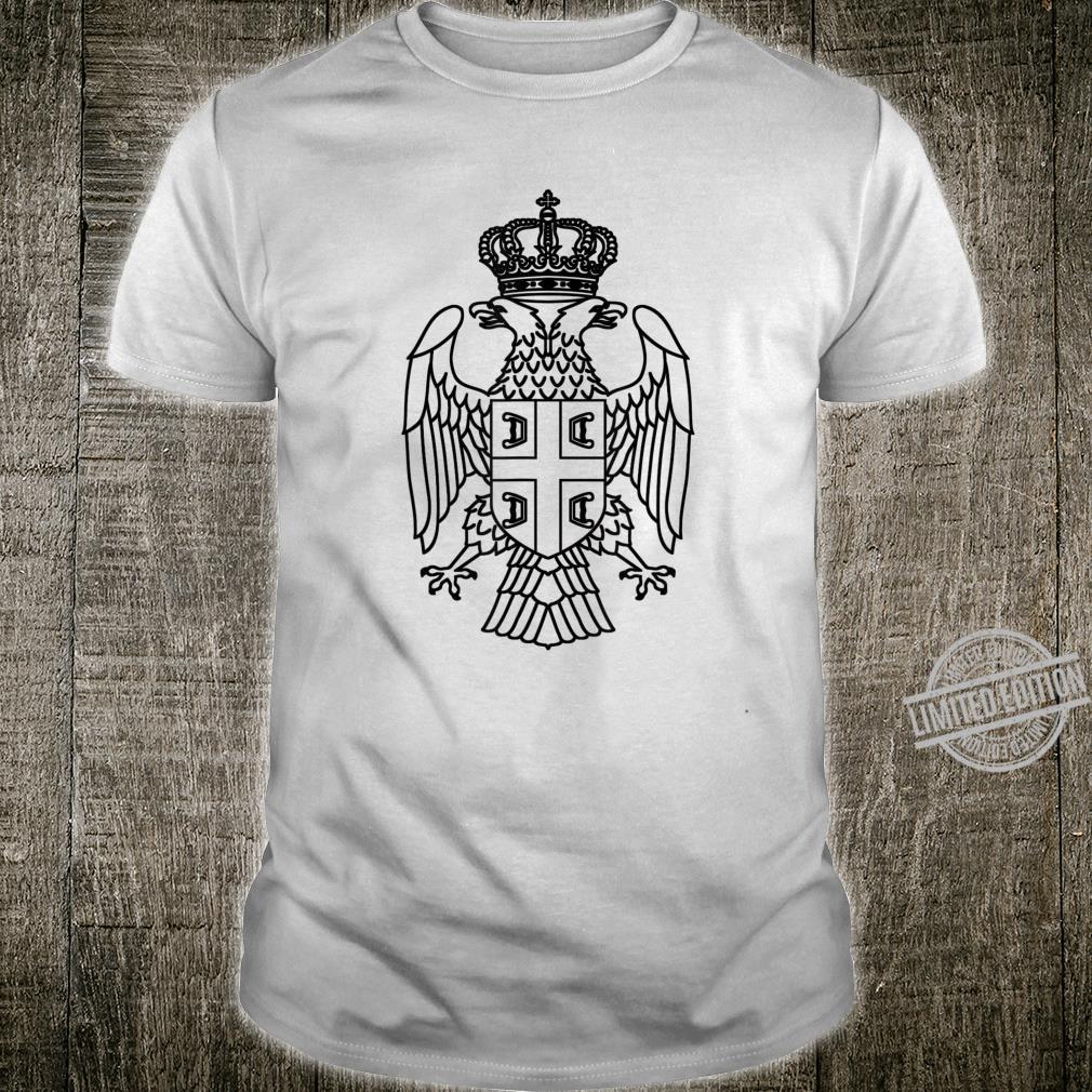 Serbien Srbija Serbia Serbischer Adler Shirt