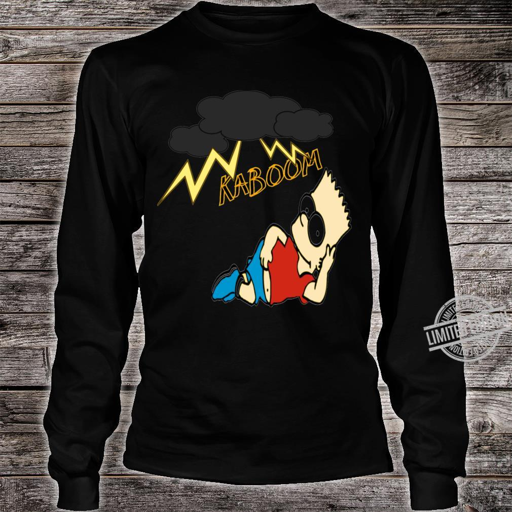 Simpsons Shirt long sleeved
