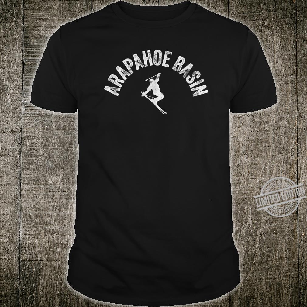 Ski Arapahoe Basin Vintage Skiing Cool ABasin Skier Gear Shirt