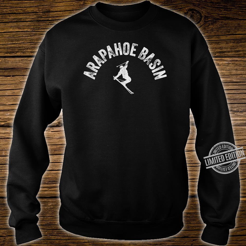 Ski Arapahoe Basin Vintage Skiing Cool ABasin Skier Gear Shirt sweater
