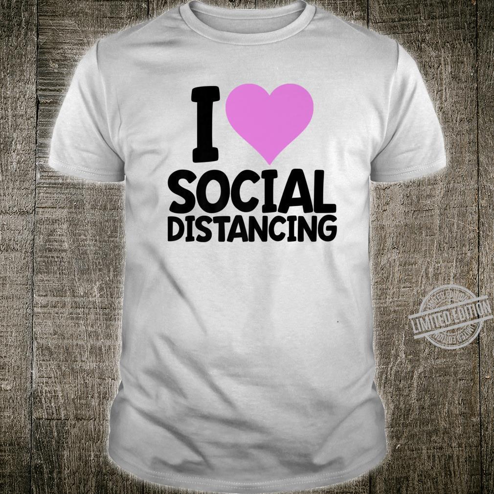 Social Distancing's Shirt Cute Ladies Shirt