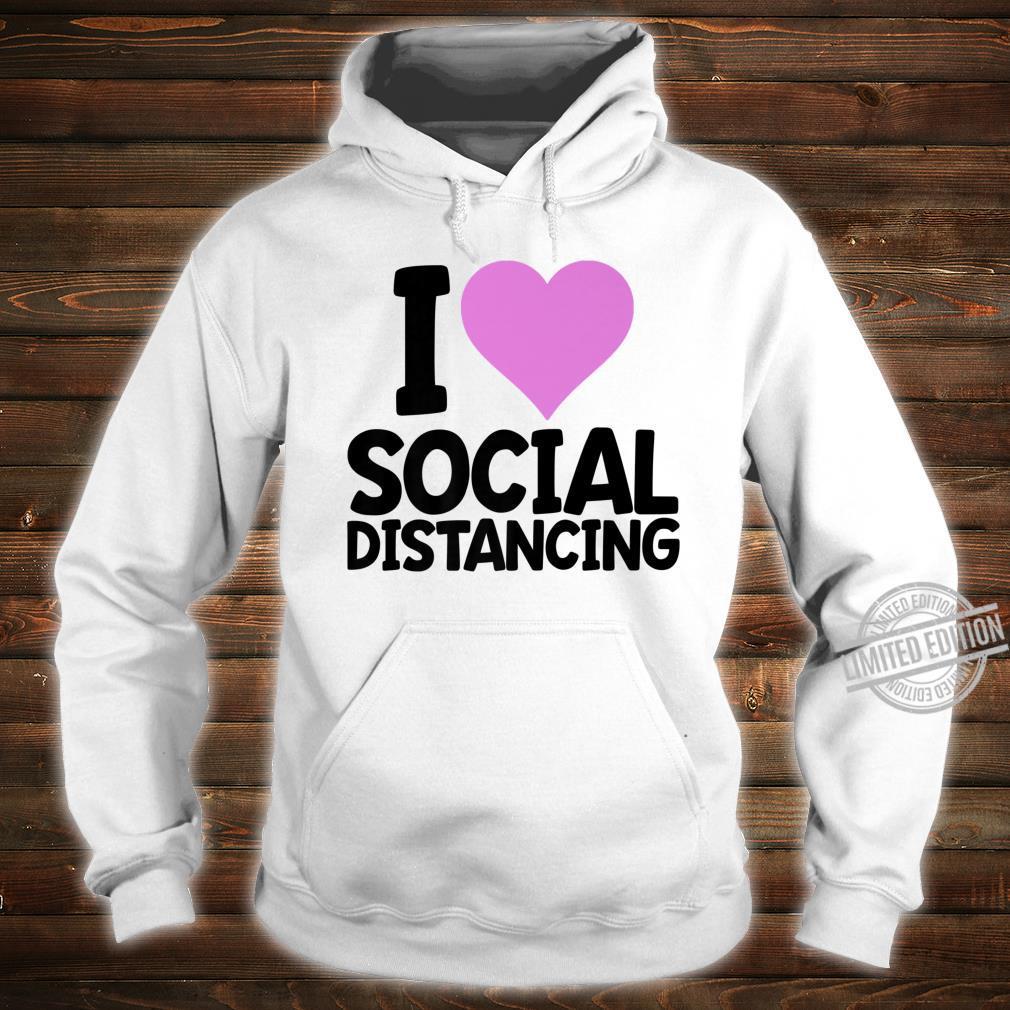 Social Distancing's Shirt Cute Ladies Shirt hoodie