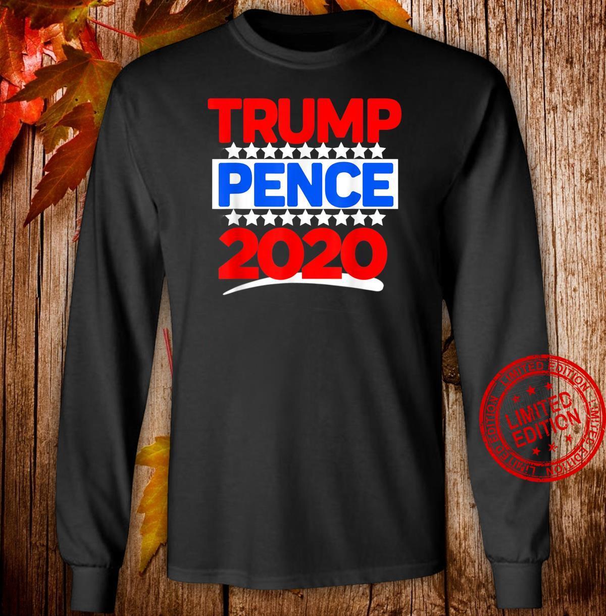Trump Pence 2020 Election Stars Shirt long sleeved