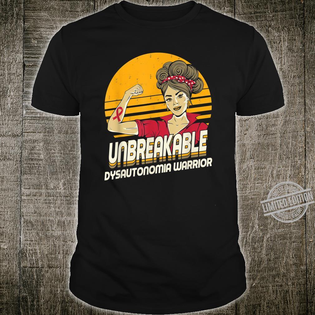 Unbreakable Dysautonomia Warrior Sunset Shirt