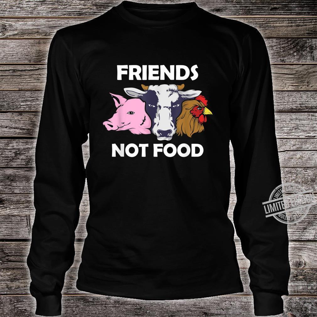Vegan Animal Protect The Animals I Don't Eat My Homies Shirt long sleeved