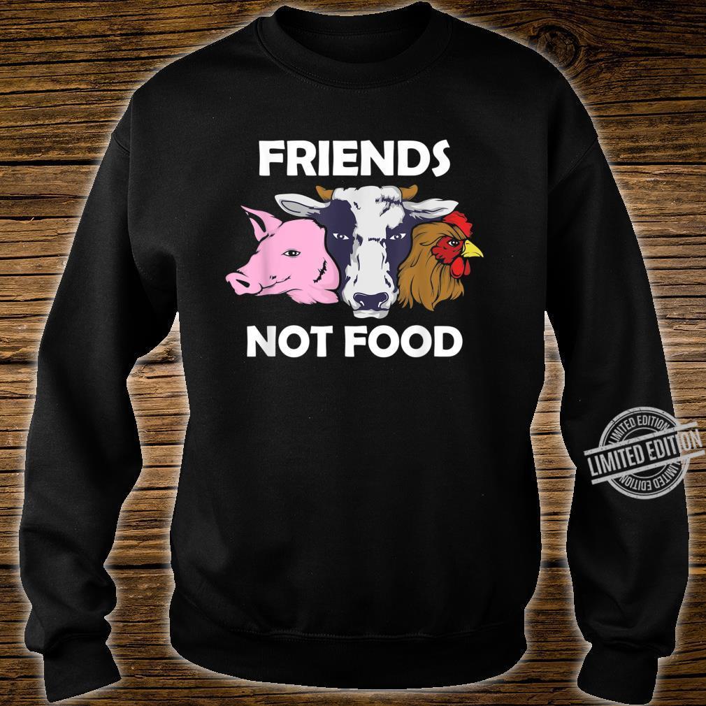 Vegan Animal Protect The Animals I Don't Eat My Homies Shirt sweater