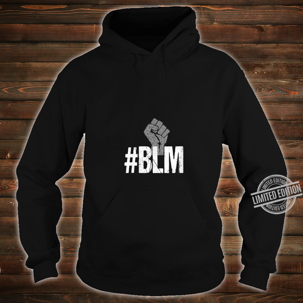 Womens #BLM Black Lives Matter Inspirational Protest Peace Vintage Shirt hoodie
