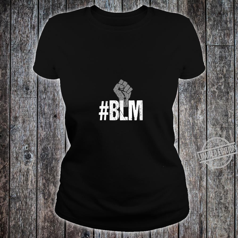 Womens #BLM Black Lives Matter Inspirational Protest Peace Vintage Shirt ladies tee